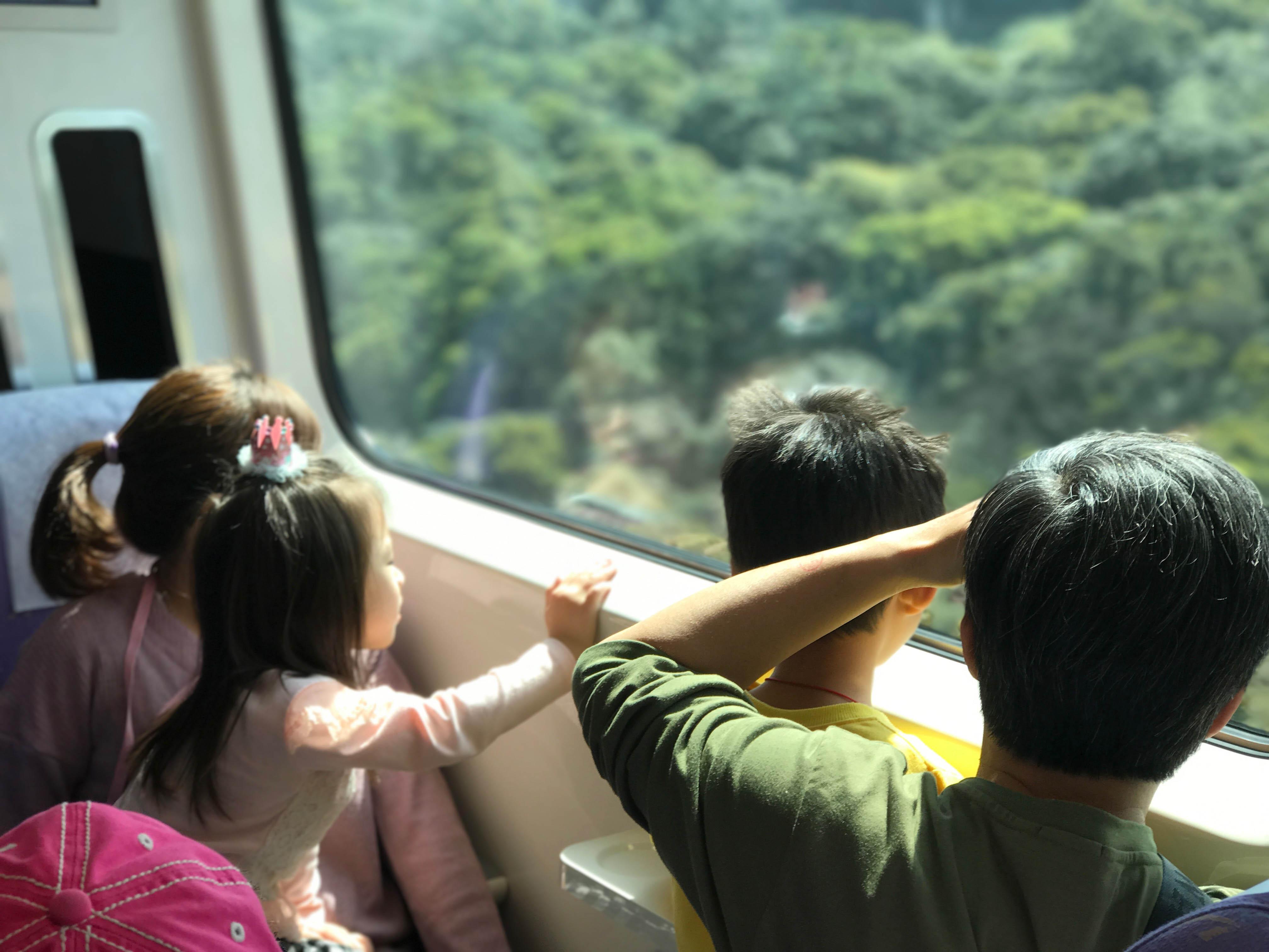 兒童票上路