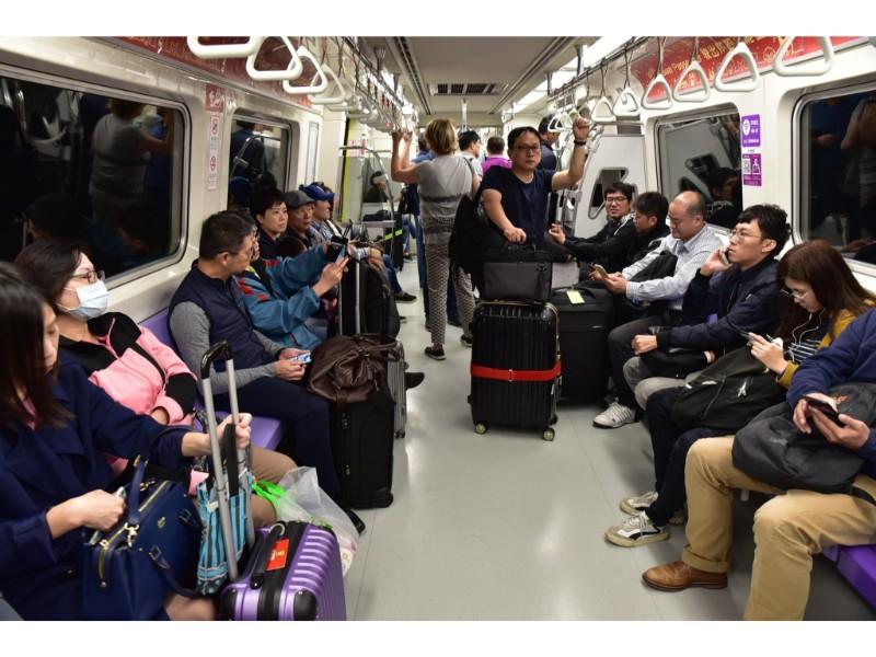 桃捷公司啟動增開往機場服務班次精進服務品質