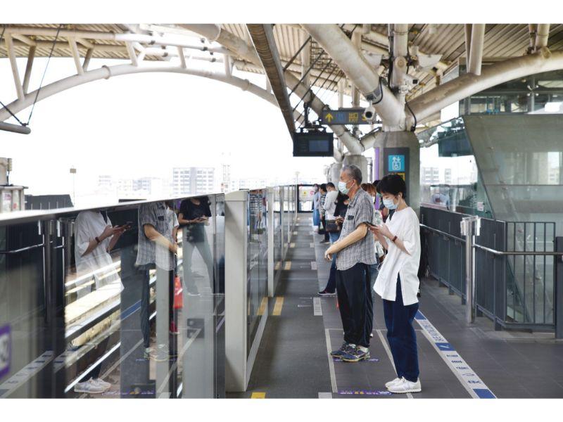 加強車站清潔消毒提供旅客安全乘車環境