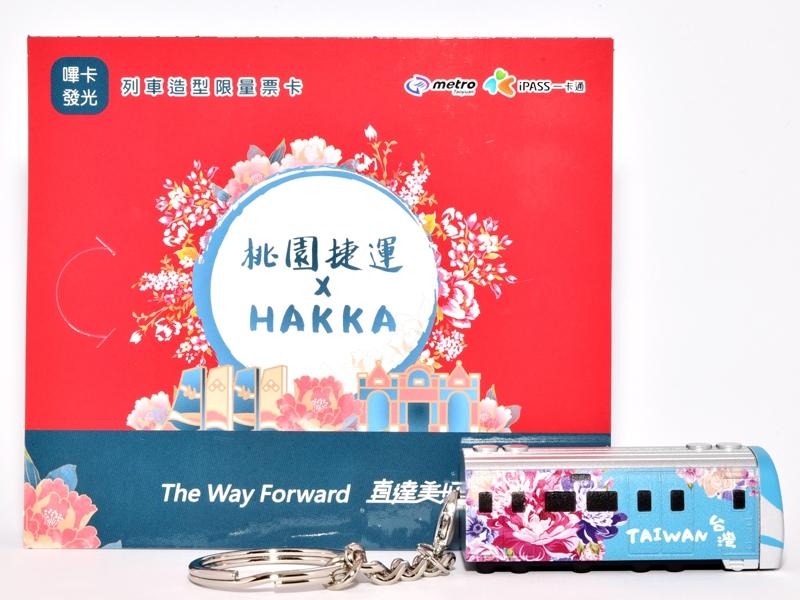 HAKKA彩繪列車一卡通