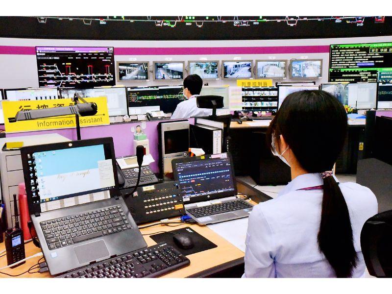 行控中心列車佔據偵測輔助系統_人員監控