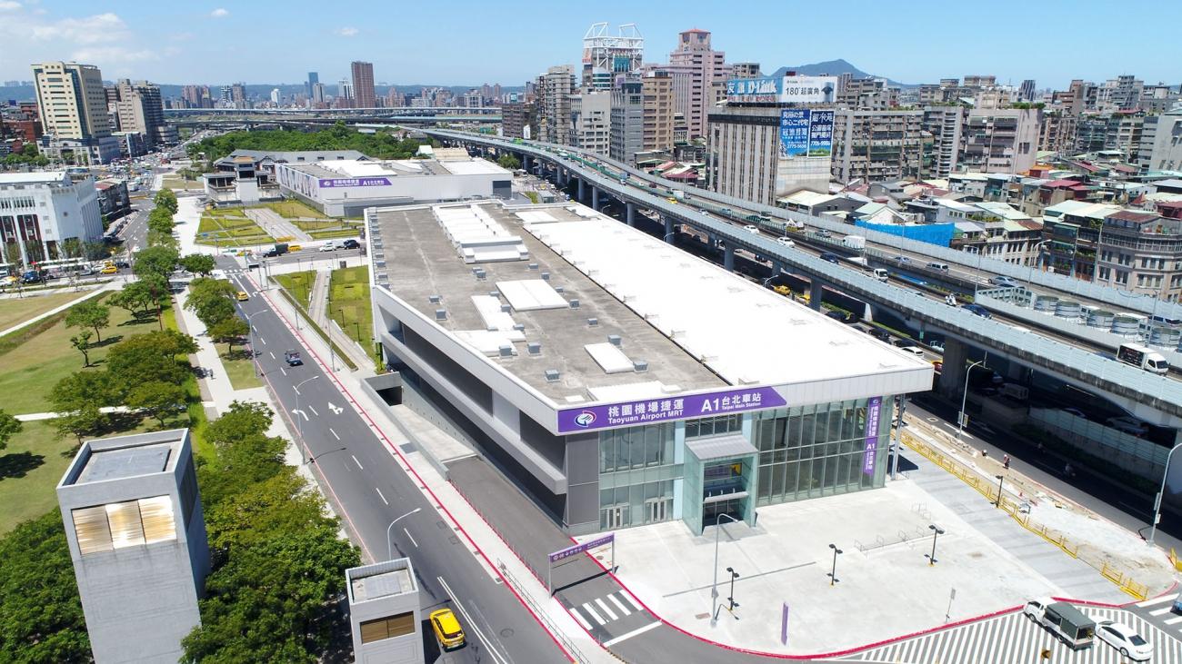 Taoyuan Metro Passenger Guide Taipei Main StationAbout the